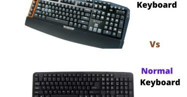 Gaming Keyboard Vs Normal Keyboard
