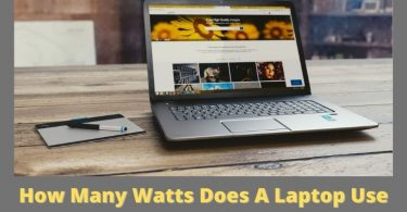 How Many Watts Does A Laptop Use